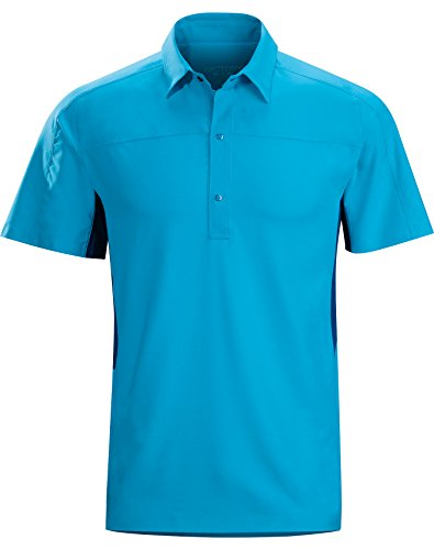 Arcteryx Polos (Arcteryx Adventus Comp SS Polo - Men's Adriatic Blue)
