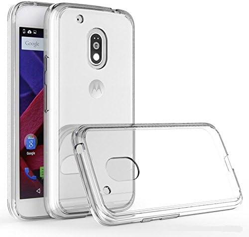 REY Funda Carcasa Gel Transparente para Motorola Moto G4 Play ...