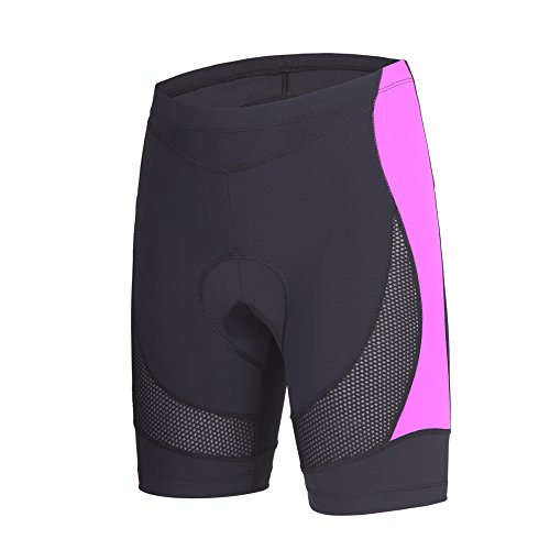 Womens Race Short (beroy Womens Bike Shorts With 3D Gel Padded,Cycling Women's Shorts With Mesh)