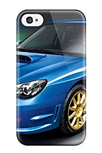 Durable Protector Case Cover With Subaru Impreza 38 Hot Design For Iphone 4/4s