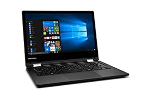 "Medion MD 60693 - Ordenador portátil de 11.6"" HD (Intel Atom x5-Z8350, RAM de 4 GB, EMMC de 128 GB, Intel HD Graphics, Windows 10) negro - teclado QWERTY Español"