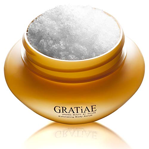 (Gratiae Organic Beauty By Nature Exfoliating Body Scrub, Apple/Green Tea and Ginger by Gratiae Organic Beauty By Nature )