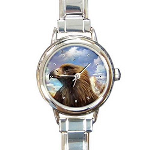 DIB105Big Bird Eagle Italian charm wrist (Bird Italian Charm Watch)
