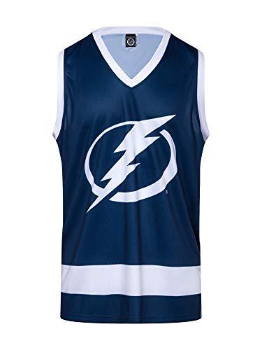 Calhoun NHL Mens Hockey Tank (Tampa Bay Lightning, Large)