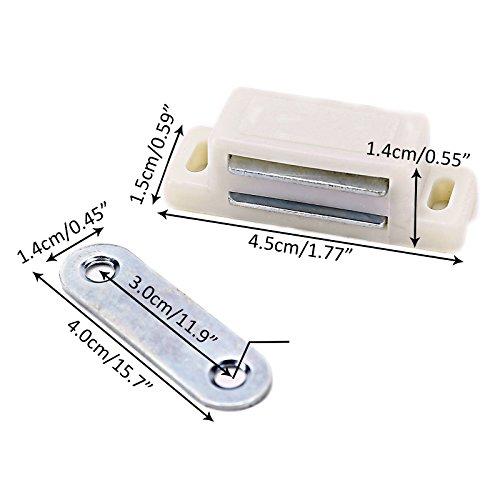 SurePromise One Stop Solution for Sourcing 10x Magnetschnäpper Schrank  Türmagnet Magnet-Schnapper Möbelmagnet Türverschluß Haltemagnet ...