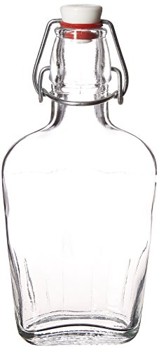 Bormioli Rocco Pocket Flask, 8.5 oz, Clear ()