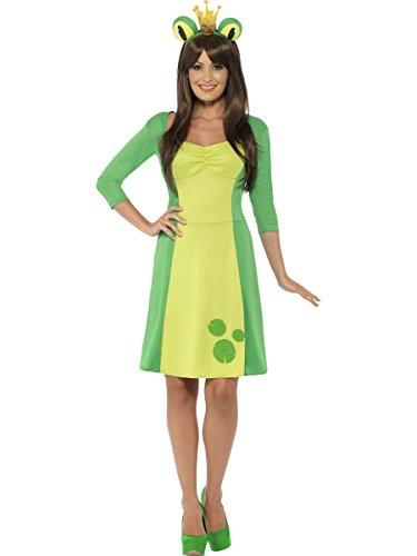 Smiffy's Women's Frog Costume, Multi, (Adult Frog Costumes)