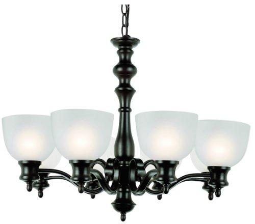 Trans Globe Lighting 7298 ROB Bishop Eight Light Chandelier