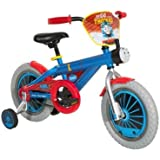 "Dynacraft Thomas The Train Boys Bike with Realistic Sounds 14"", Blue/Red/Black"
