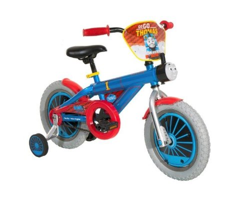 Dynacraft Thomas The Train Boys Bike with Realistic Sounds 14'', Blue/Red/Black by Nickelodeon