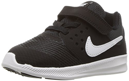 Price comparison product image NIKE Boys' Downshifter 7 (TDV) Running Shoe, Black/White-Anthracite, 3 M US Toddler