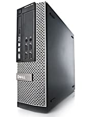Dell OptiPlex 7010 SFF 3rd Gen Quad Core i5-3470 8GB 250GB DVDRW Windows 10 Professional 64-Bit Desktop PC Computer (Renewed)