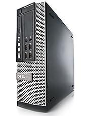 Dell OptiPlex 7010 SFF Core i3-3220 8GB 250GB DVDRW WiFi Windows 10 Professional 64-Bit Desktop PC Computer (Renewed)