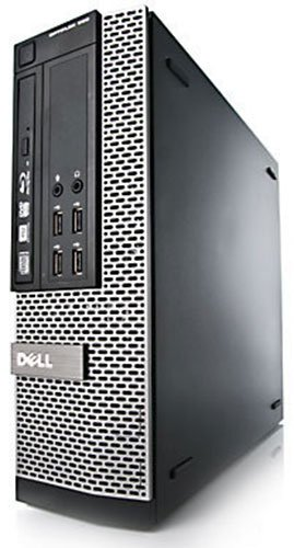 Dell OptiPlex 7010 SFF Core i3 8GB 1TB DVDRW WiFi Windows 10 Professional 64-Bit Desktop PC Computer With Antivirus (Certified Refurbished)
