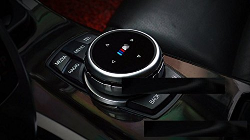 Eppar New Decorative Media Control Button Cover for BMW M6 Gran Coupe F06 2013-2017 (M Glossy)