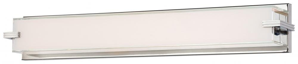 George Kovacs P5217-077-L, Cubism, LED Bath Fixture, Chrome by Kovacs