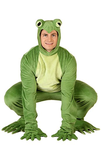 Adult Frog Costumes (Adult Deluxe Frog Costume Standard)