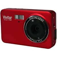 Vivitar VF131-RED 14MP Compact System Digital Camera with 1.8-Inch LCD - Body Only (Red)