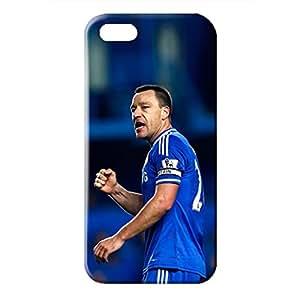 best chelsea football club plyaer john terry pattern case for Iphone 5/5s dark blue back design for students
