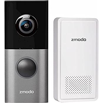 Amazon Com Zmodo Greet Pro Smart Video Doorbell With Wifi Extender