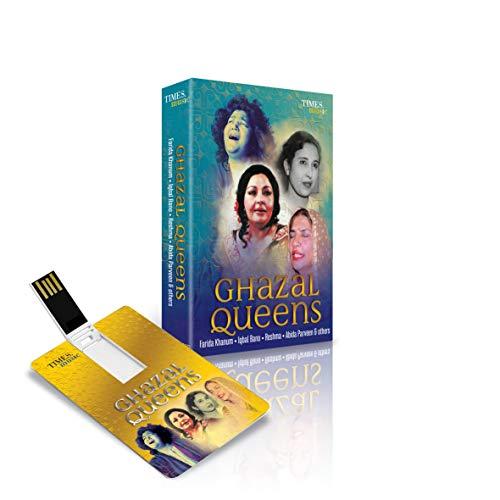 Ghazal Queens Audio Songs 4 GB Music Card