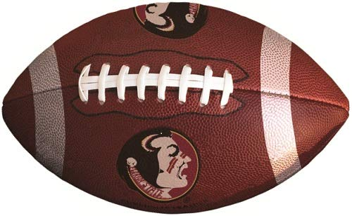 WiggleWalls 8 Inch FSU Logo Football Decal Florida State University Seminoles Noles FS FL Removable Wall Sticker Art NCAA Home Room Decor 8 by 5 Inches