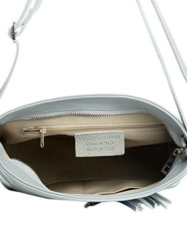 16 Taschen Grey Lucca Baldi Schultertasche xIw5FqT