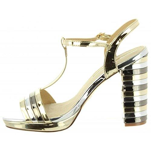 Maria Mare Women Sandals 67116 C39160 Champagne OcG1APe