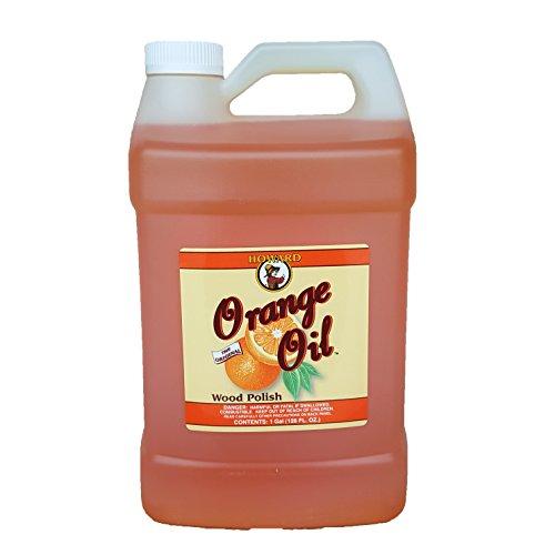 Howard Orange Oil Hardwood Floor Cleaner 128oz Gallon, Clean Kitchen Cabinets, Clean Wood Floors, Orange Oil Cleaner