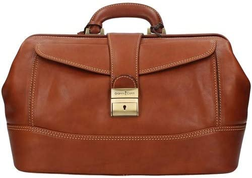 Doctor's bag in genuine Italian leather