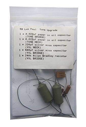 Oil Capacitor - 59er for L Paul guitar paper in oil (PIO) Capacitor Tone Upgrade