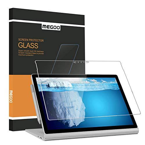 Microsoft Surface Book 2 (15 inch), Screen Protector Megoo, [HD Tempered Glass...