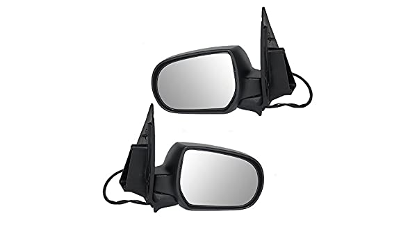 Passengers Power Side View Mirror Textured Replacement for Ford Escape Mercury Mariner /& Hybrid 2L8Z17682CAB AUTOANDART