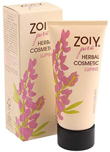 ZoiY Vegan Lupine Handcreme, Für samtweiche und glatte Hände, zieht schnell ein, 60 ml