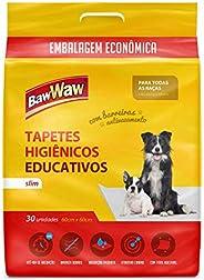 Baw Waw Tapetes Higiênicos Slim para cães 30 unidades