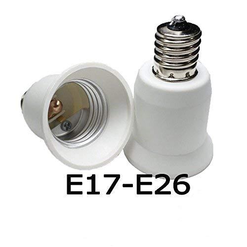 Adaptador de E27 de base a E17 para Myhonour lámpara WExrBdCoeQ