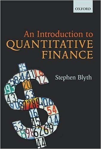An Introduction to Quantitative Finance: Stephen Blyth