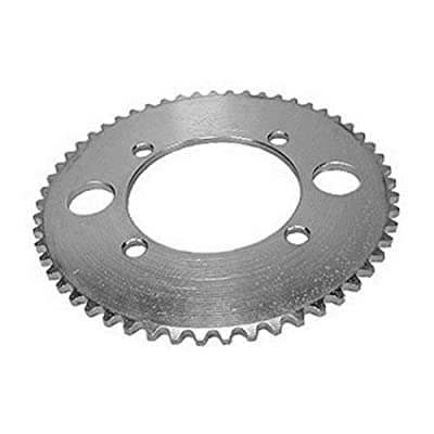 WhatApart #25 55-Tooth 4-Bolt Rear Sprocket for Razor E300 Electric Scooter : Sports & Outdoors