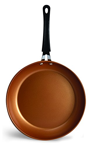 Ecolution Endure 8 Inch Nonstick Fry Pan | Induction Base | Oven Safe, Copper