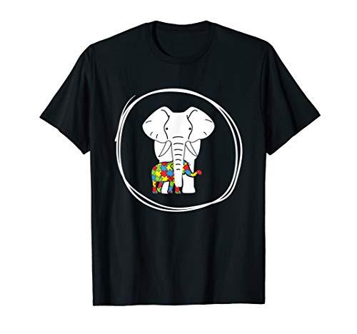 Autism Awareness Elephant Tshirt 2018