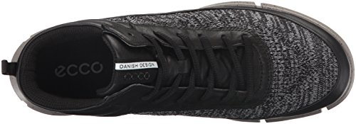 ECCO Womens Intrinsic 1 High-W Fashion Sneaker Black/Concrete ffZnyl