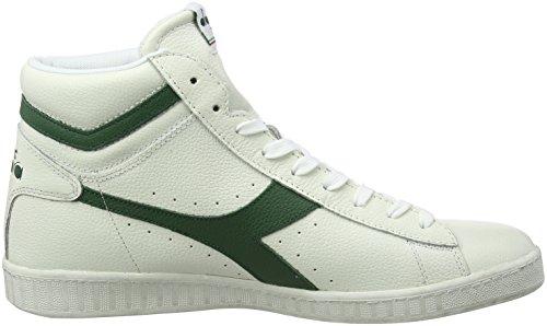 Unisex L Waxed Game Diadora High a Collo Sneaker Alto 8wFqgHqx5