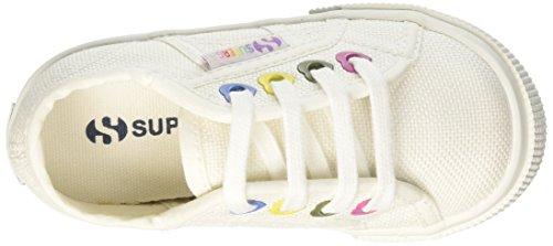 Superga 2730-Cotj Colors Hearts, Zapatillas Para Niñas Bianco (White)