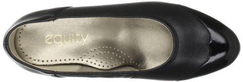 Padders Ctas Speciality - Zapatos de tacón de cuero mujer negro - Schwarz (Black Croc)