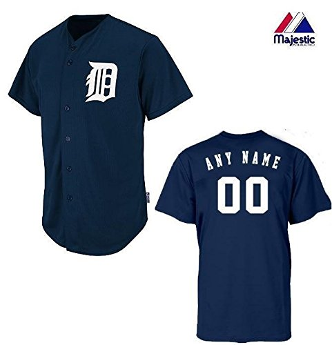 custom detroit tigers jersey - 2
