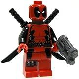 Lego DEADPOOL Custom Printed Minifig Marvel X-Force X-Men Mutant Wade Wilson