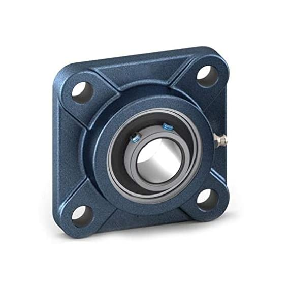 Raja Rubbers UCF205 Flange bearing, Square 4-Bolt Flange unit for shaft diameter 25mm
