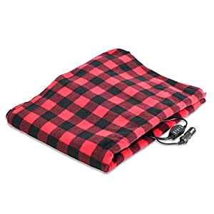 Amazon Com Treksafe 12v Heated Blanket Car Truck