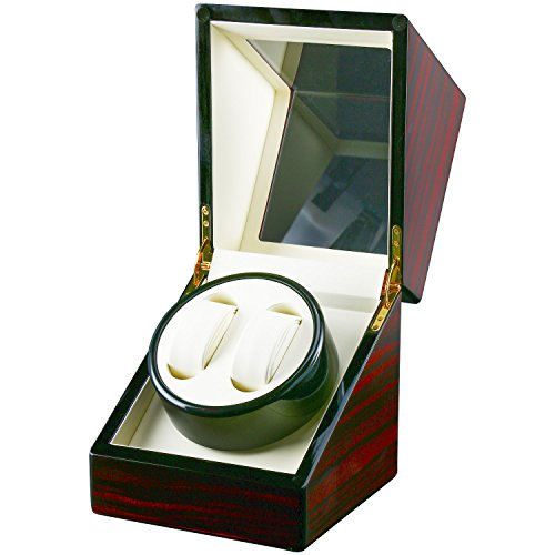 Homend Automatic Watch Winder Carbon Fiber Jewelry Storage Case Watches Display Box