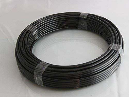 Nylon Tube Air Tuyau 4mm X 2,5 mm 30 Metres Noir pour /à LEssence Diesel Bio Essence